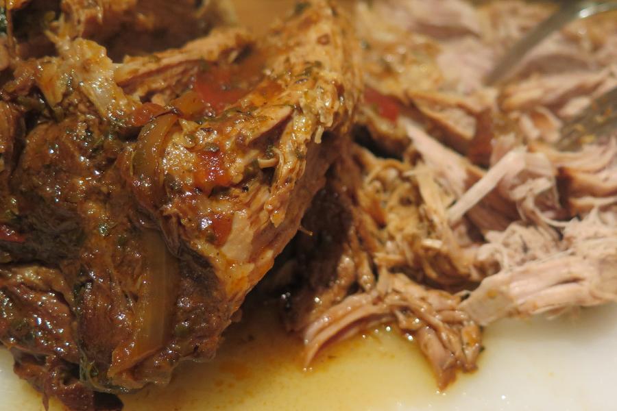 Pulled pork Sous Vide